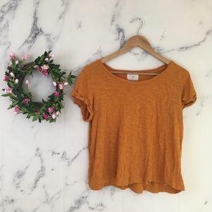 t.la Anthropologie Orange Tee Shirt